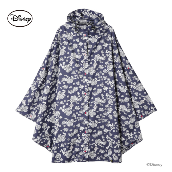 【Disney】キャラクターレインポンチョ ミニーマウス/ラブレター
