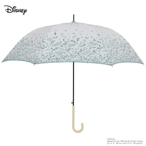 【Disney】キャラクターアンブレラ 60cm ジャンプ くまのプーさん/ボタニカルリーフ